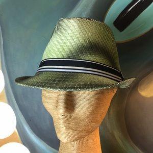 NWT Green Unisex Fedora Hat